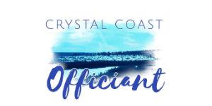 Crystal Coast Officiant logo